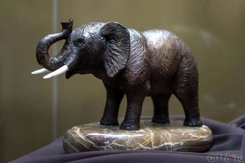 Фото №141243. Слон. Кальцит, природный краситель