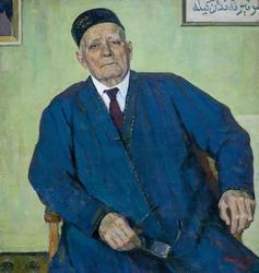 Портрет Баки Урманче. 1989.  Рифкат Вахитов