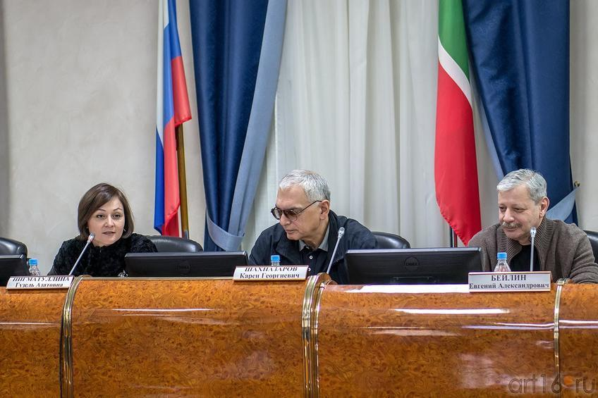 Фото №141593. Гузель Нигматуллина, Карен Шахназаров, Евгений Бейлин