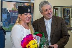 Елена Острая, Григорий Эйдинов