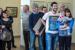 На открытии выставки «Сербия глазами казанских художников», 01.03.2013