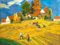 Сербия. Сельский пейзаж. Григорий Эйдинов