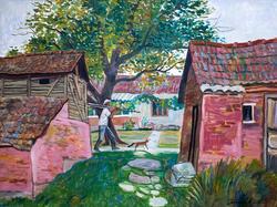 Сербия. Сараи в селе. Григорий Эйдинов