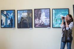 На выставке «Сербия глазами казанских художников»