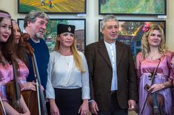 Александр Чебинев, Елена Острая, Григорий Эйдинов с музыкантами