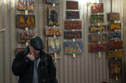 Илья Чирков на выставке Виктора Тимофеева