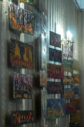 Фрагмент экспозиции выставки В.Тимофеева «Мартовский кот»