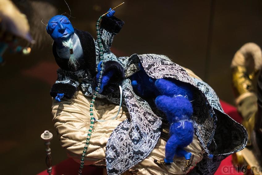 Юсупова Марина, г.Казань, «Синяя гусеница»::Выставка-фестиваль авторской игрушки