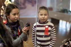 На выставке ''Зазеркалье'', Манеж, 5.03.2013