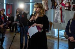 Наталья Зюмченко. Открытие выставки ''Зазеркалье'', 5.03.2013