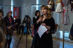 Наталья Васильевна Зюмченко. Открытие выставки ''Зазеркалье'', 5.03.2013