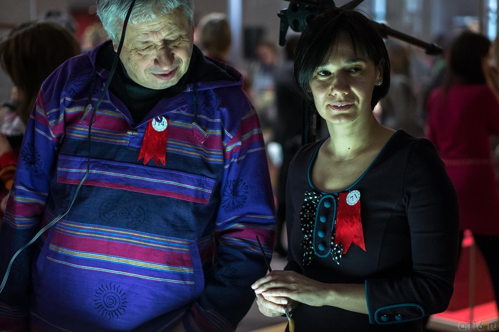 Григорий Эйдинов, Елена Ермолина::Выставка-фестиваль авторской игрушки