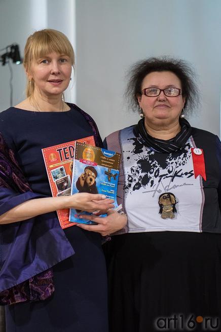 Королева Милана (Казань), Альфира Бухараева (Москва)::Выставка-фестиваль авторской игрушки