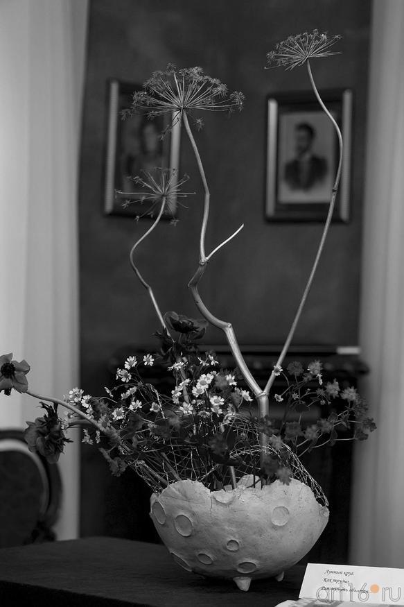 Фото №142718. Цветочная композиция по мотивам хайку Н.Ахуновой. Мастер Ольга Ломовцева