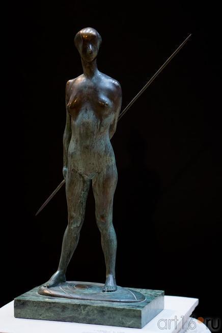 Девушка с копьем. 2003::Выставка, посвященная Всемирной Универсиаде в Казани и Зимним Олимпийским играм в Сочи