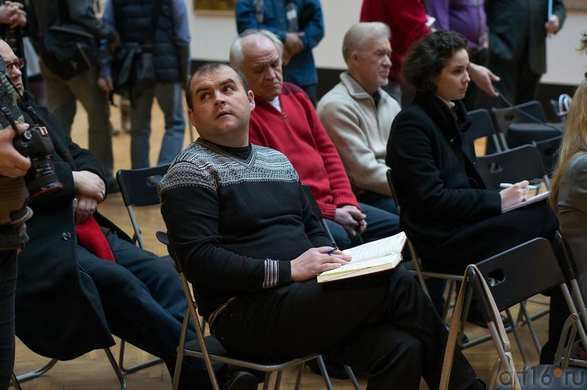 Фото №143438. Пресс-конференция перед открытием выставки «О, спорт! Ты —мир!»