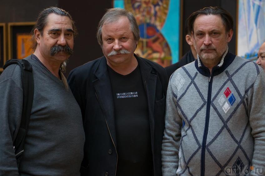 Фото №143480. Виктор Тимофеев, Константин Худяков, Александр Артамонов