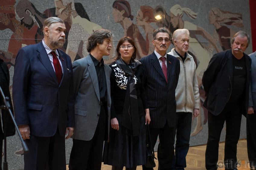Фото №143540. С.Горяев, А.Суховецкий, Е.Некрасова, Н.Валеев, З.Гимаев, К.Худяков