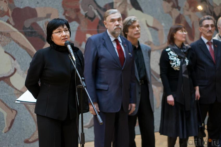Фото №143546. Р.Нургалеева, С.Горяев, А.Суховецкий, Е.Некрасова, Н.Валеев