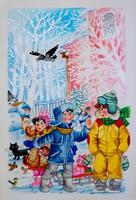 4. ШМУЦТИТУЛ К ДВУХТОМНИКУ СТИХОВ Р. МИННУЛЛИНА. 2002