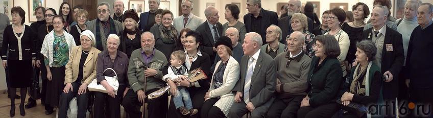 Фото №144246. Фото с открытия выставки Фариды Хасьяновой, 14.03.2013