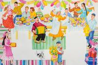 """ИЛЛЮСТРАЦИЯ К ПОЭМЕ Р. ХАРИСА ДЛЯ ДЕТЕЙ """"КРАСИВЫЙ ДОМ"""". 2005"""