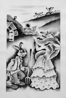 """ИЛЛЮСТРАЦИЯ К КНИГЕ А. АЛИША """"КТО САМЫЙ СИЛЬНЫЙ?"""". 1985"""