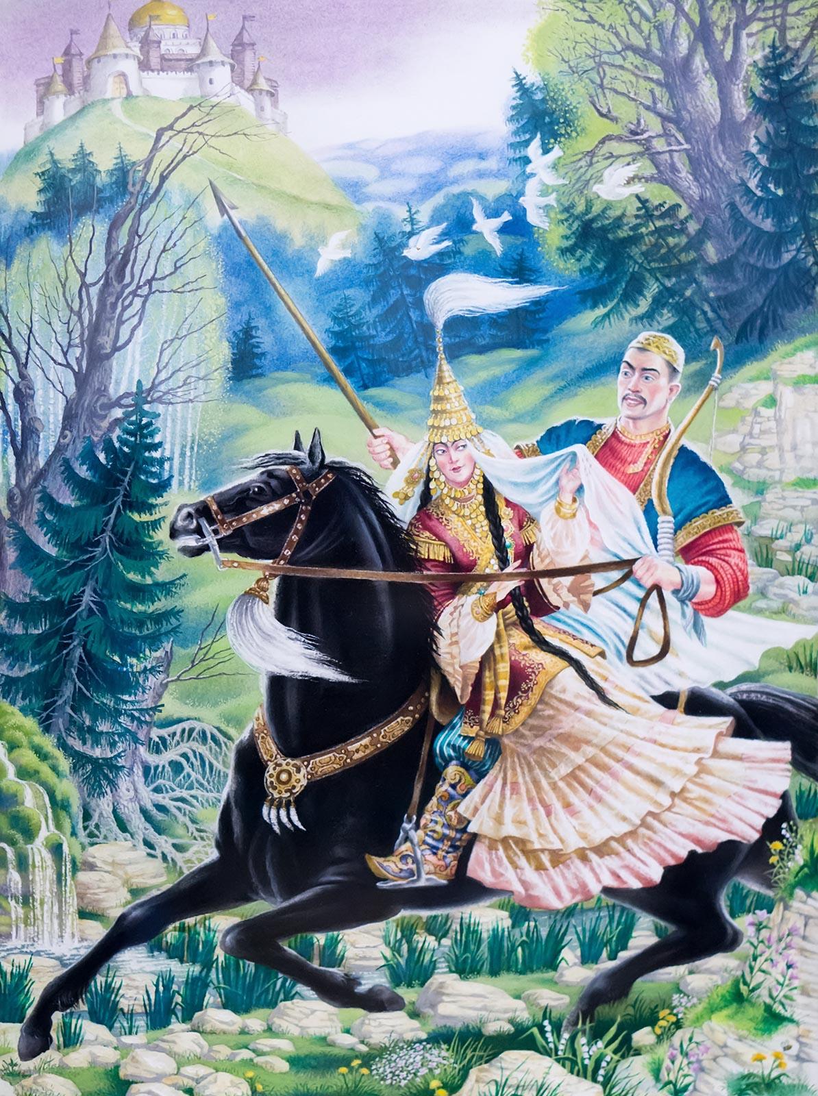 отели татарская народная сказка с иллюстрациями просмотра расписания