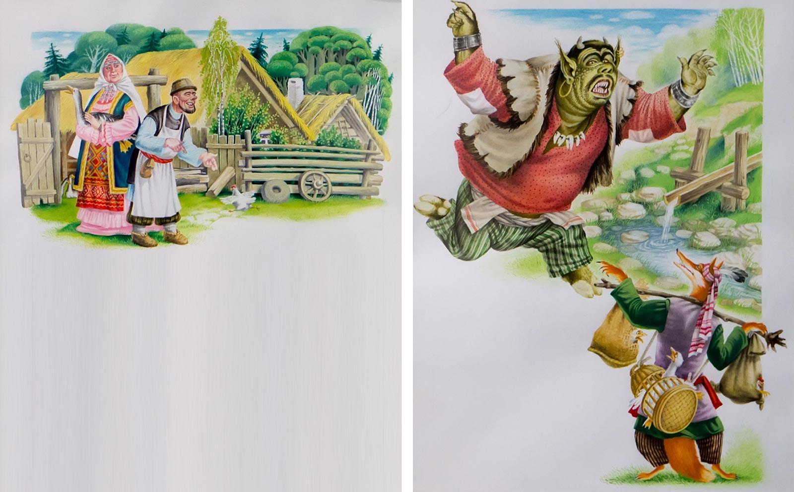 Картинки сказок татарских