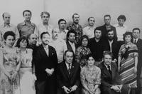 Фотография из Архива. Ф. Хасьянова в центре, в первом ряду