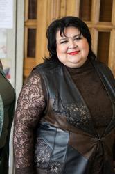 Дефиле сотрудников музея в эксклюзивной одежде, разработанной и сшитой Василисой