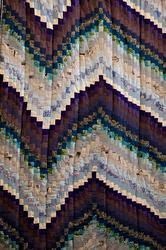 Одеяло «Северное сияние», фрагмент