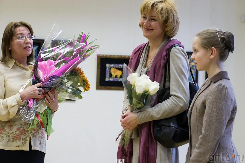 Фото №145001. Любовь Гриценко, Светлана Шайхутдинова с дочерью