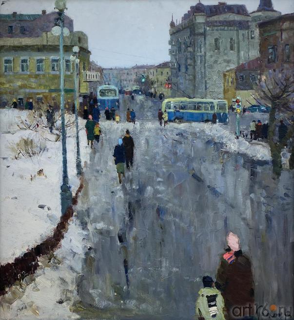 ГОРОДСКОЙ ПЕЙЗАЖ. I960::Андрей Лаврентьевич Прокопьев. Выставка, посвященная 90-летию со дня рождения