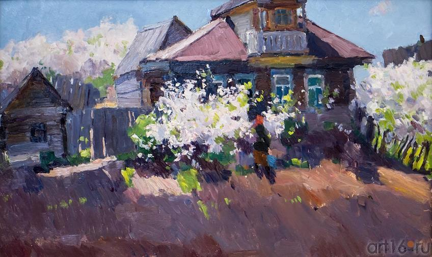 ВИШНЯ ЦВЕТЕТ. 1968::Андрей Лаврентьевич Прокопьев. Выставка, посвященная 90-летию со дня рождения