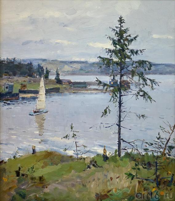 НА ЧУСОВОЙ. 1960::Андрей Лаврентьевич Прокопьев. Выставка, посвященная 90-летию со дня рождения