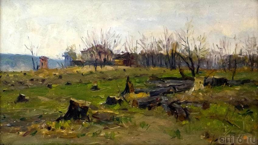 ВЫРУБКА. ДУБКИ. 1956::Андрей Лаврентьевич Прокопьев. Выставка, посвященная 90-летию со дня рождения