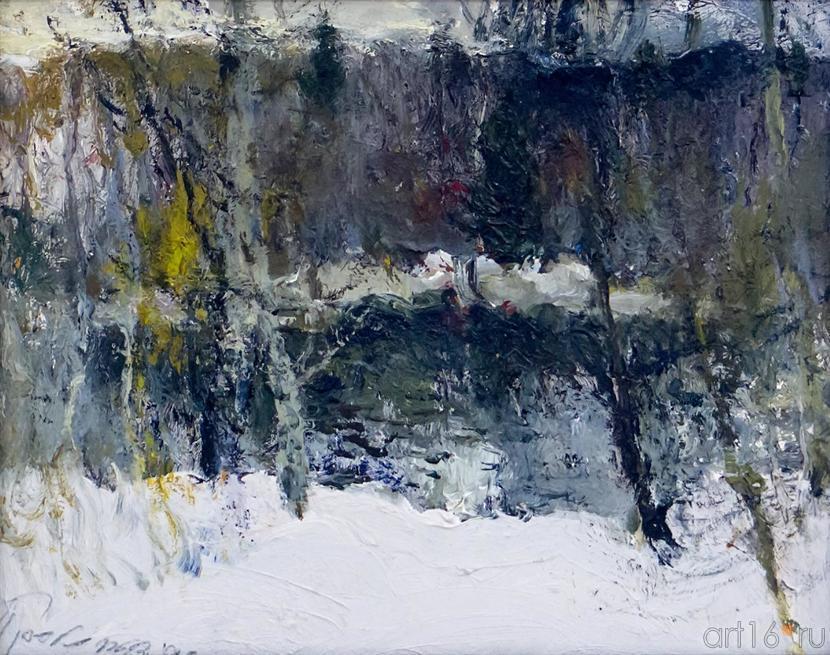 ОЗЕРО. 1990::Андрей Лаврентьевич Прокопьев. Выставка, посвященная 90-летию со дня рождения