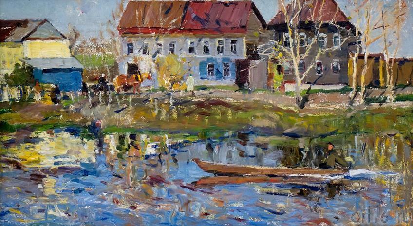ВЕСНА ПРИШЛА. 1967::Андрей Лаврентьевич Прокопьев. Выставка, посвященная 90-летию со дня рождения