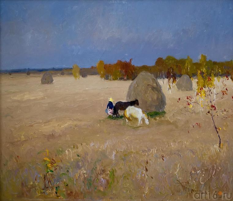 СОЛНЕЧНЫЙ ДЕНЬ. 1967::Андрей Лаврентьевич Прокопьев. Выставка, посвященная 90-летию со дня рождения