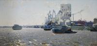 ВОЛГА У КАЗАНИ. 1963