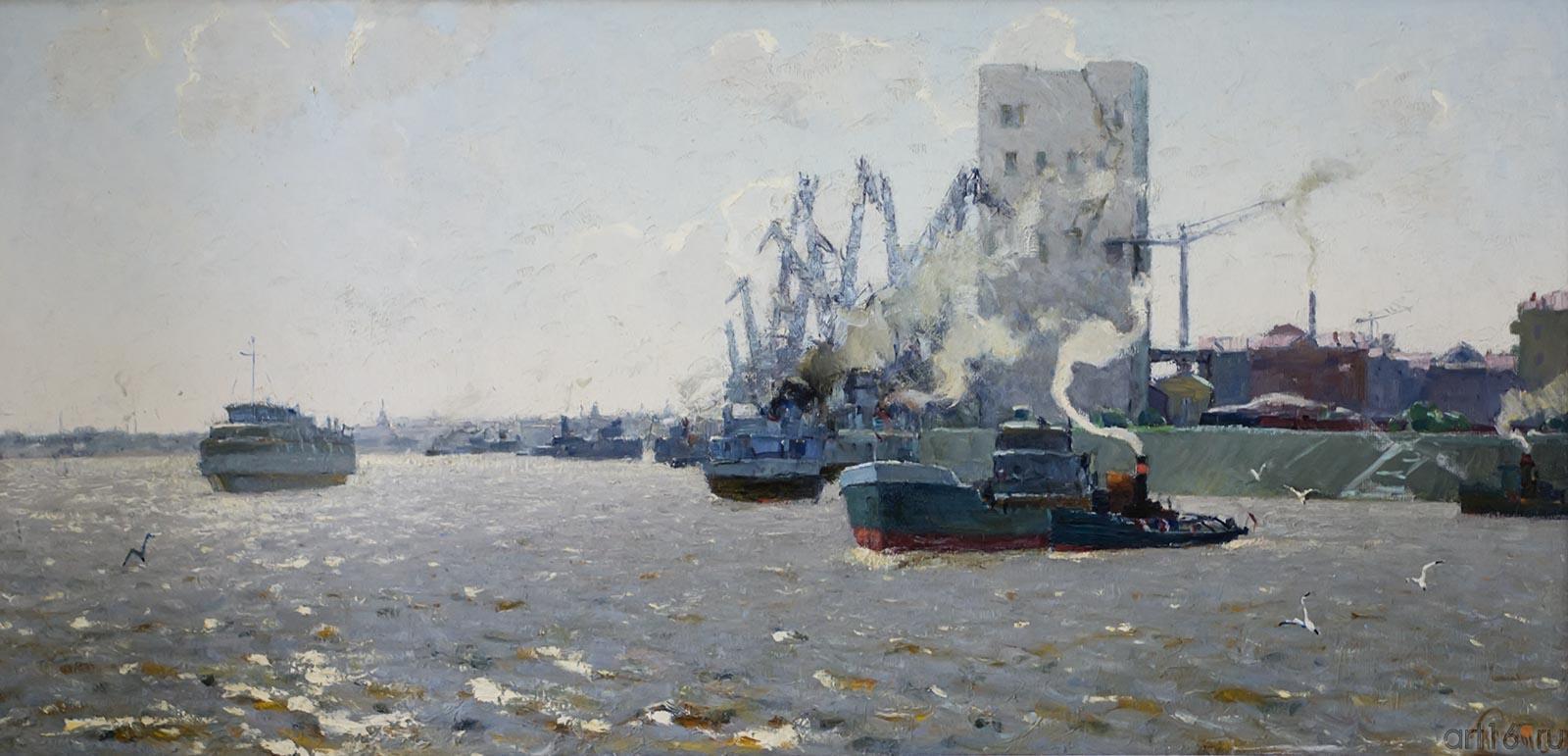 ВОЛГА У КАЗАНИ. 1963::Андрей Лаврентьевич Прокопьев. Выставка, посвященная 90-летию со дня рождения