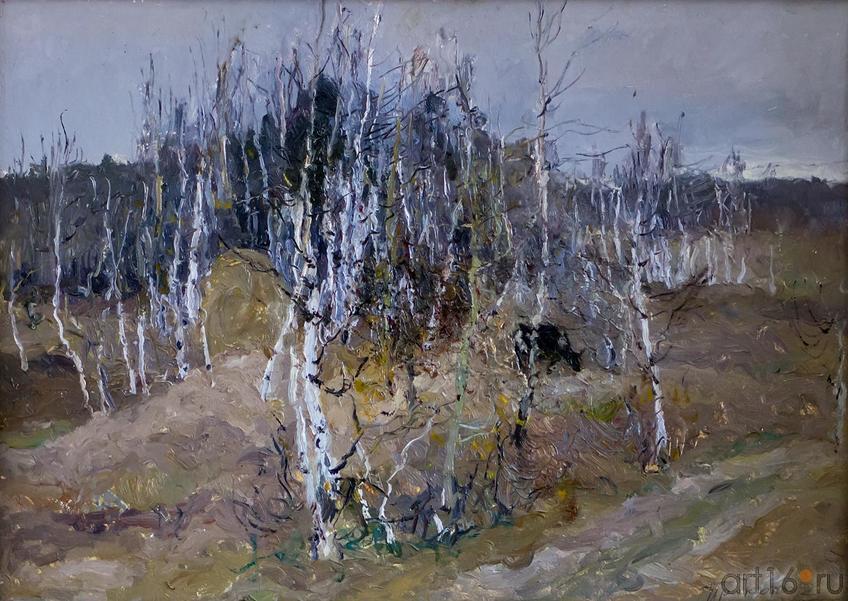 ОСЕННИЙ ДЕНЬ. 1988::Андрей Лаврентьевич Прокопьев. Выставка, посвященная 90-летию со дня рождения