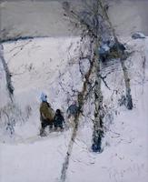 В БАНЬКУ. 1992