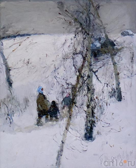 В БАНЬКУ. 1992::Андрей Лаврентьевич Прокопьев. Выставка, посвященная 90-летию со дня рождения