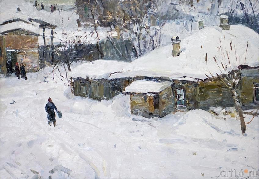 ПОВЕЯЛО ВЕСНОЙ. 1985-1986::Андрей Лаврентьевич Прокопьев. Выставка, посвященная 90-летию со дня рождения