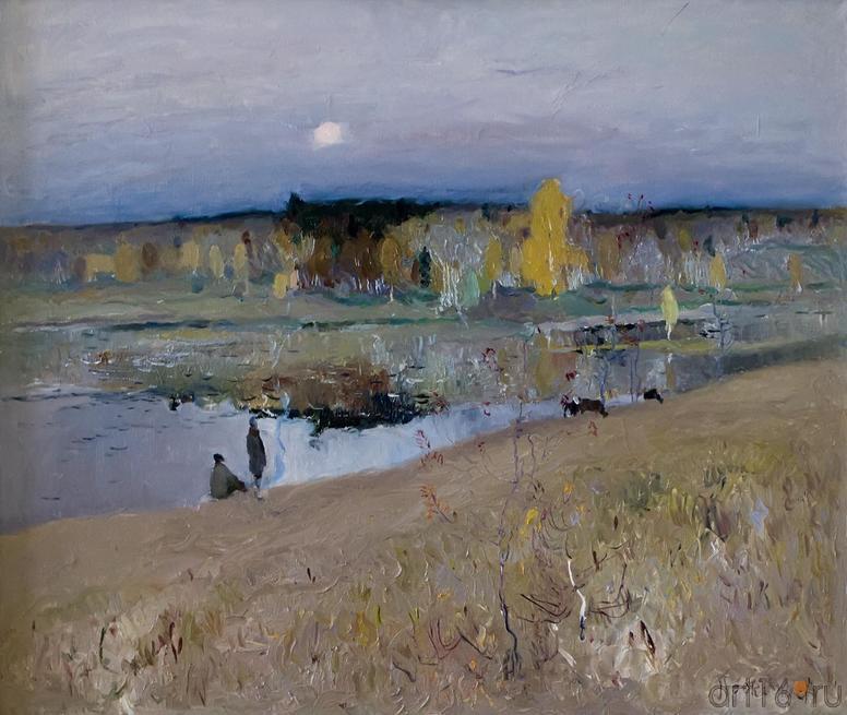 ЗИМА В ГОРОДЕ. 1968::Андрей Лаврентьевич Прокопьев. Выставка, посвященная 90-летию со дня рождения
