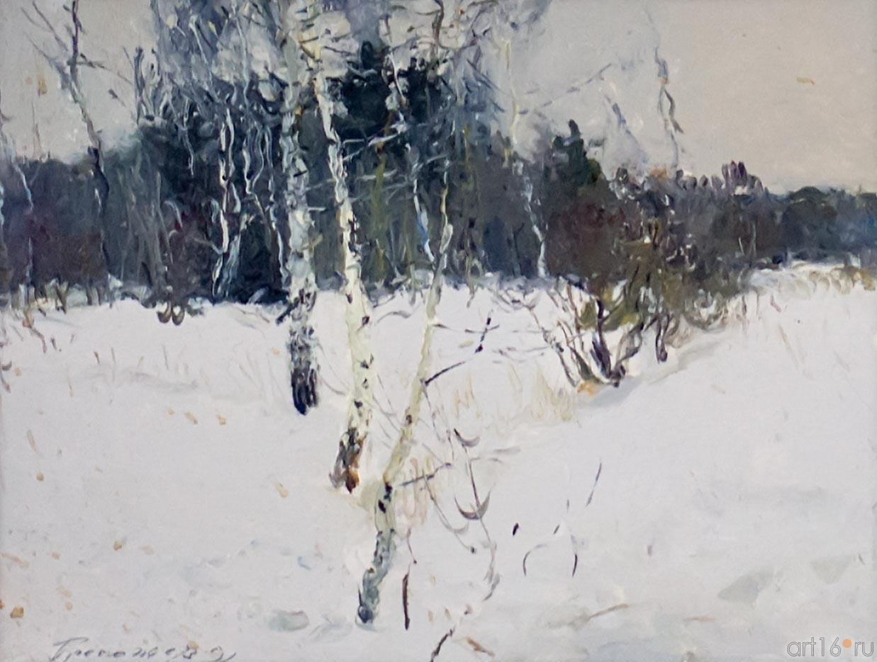 ЗИМОЙ. ТИШИНА. 1991::Андрей Лаврентьевич Прокопьев. Выставка, посвященная 90-летию со дня рождения