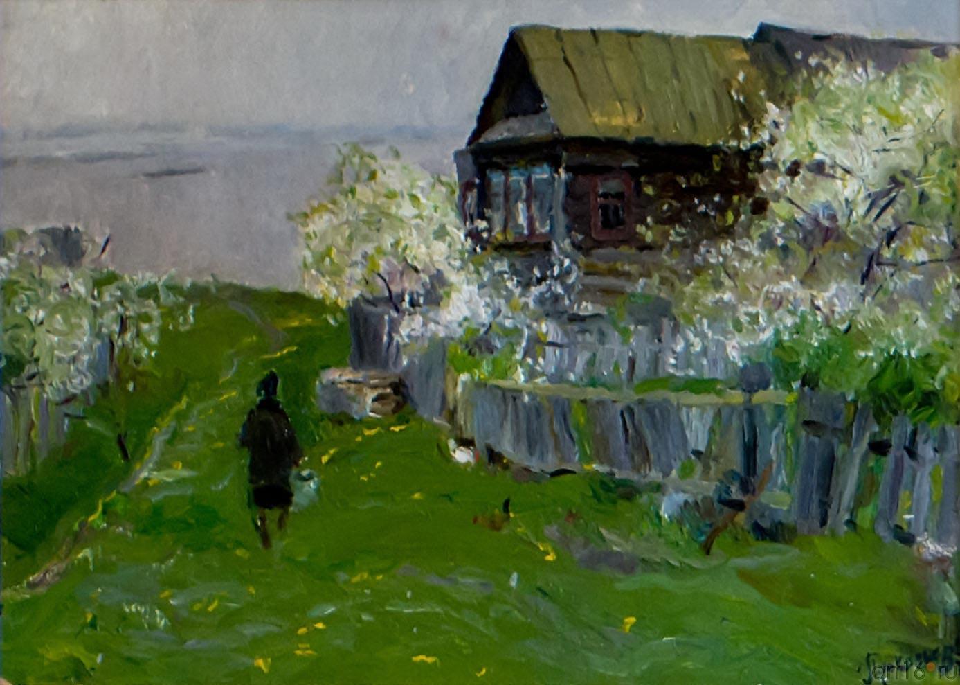 ВИШНЯ ЦВЕТЕТ. 1975::Андрей Лаврентьевич Прокопьев. Выставка, посвященная 90-летию со дня рождения