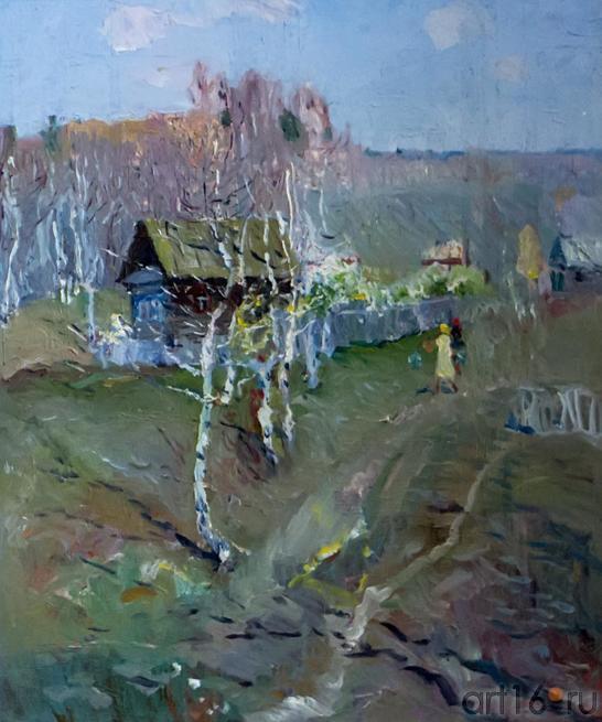 АПРЕЛЬ. 1971::Андрей Лаврентьевич Прокопьев. Выставка, посвященная 90-летию со дня рождения